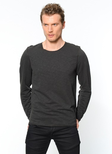 Uzun Kollu Sweatshirt-Kaft